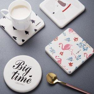 Last Day: 15% off or 20% off $20+Diatomite Coasters Soap Tray @ The Apollo Box