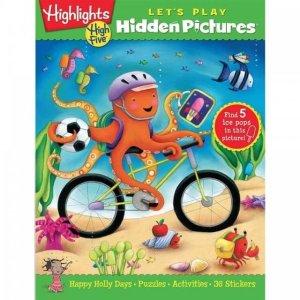 5折起+额外8.5折Highlights Hidden Pictures 俱乐部会员促销 影响美国几代人的教育品牌