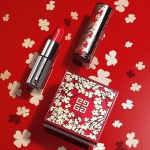 9折Givenchy 美妆护肤品热卖 入超美粉管唇膏、四格散粉