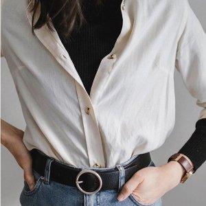 2件$99 收大热香芋紫最后一天:Frank&Oak 衬衫特卖 博主同款叠穿法 高级又时髦