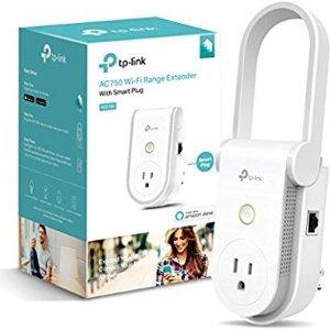 $29.99(原价$59.99)TP-Link Kasa AC750 Wi-Fi 信号扩大器+智能插座