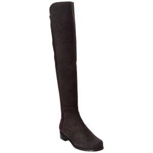 Stuart Weitzman5050 Suede Over-The-Knee Boot