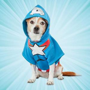 第2件5折 + 满$85享额外8折Petco 漫威漫画系列宠物服饰、玩具热卖
