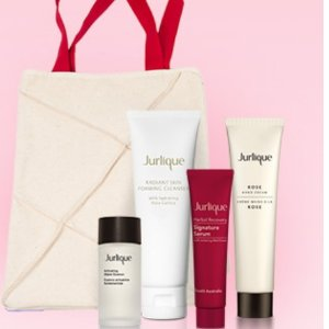 Spend $75+and receive FREE 4-piece gift + canvas tote @ Jurlique