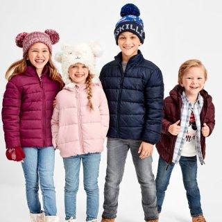 $19.99包邮 (原价$49.95)Children's Place 儿童保暖外套热卖