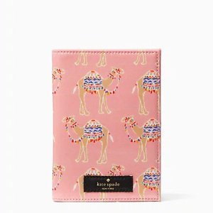 Kate Spade骆驼护照夹