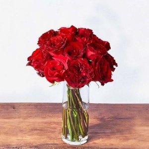 UrbanStemsThe Valentine 鲜花