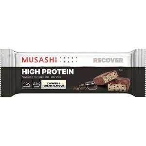 MusashiHigh Protein Bar 能量棒 Cookies And Cream