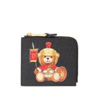 Moschino 小熊零钱包