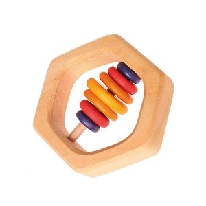 Hexagonal Rattle (Grimm's)