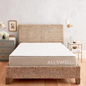 满$800立减$120+$100礼卡+真丝眼罩折扣升级:Allswell 奢华经典系列床垫和设计师床品热卖