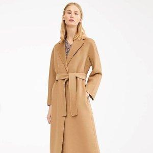 低至5折 £387收羊毛大衣S Max Mara 高性价比副线热卖 好价收羊毛大衣