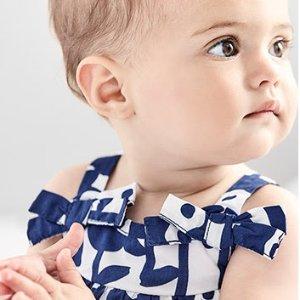 包邮 包臀衫3件$7.2 史低折扣升级:Carter's童装官网 有机棉服饰3折起热卖,更亲肤的好材质