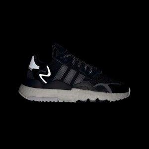 Adidas大童款 成人可穿Nite Jogger 反光跑鞋