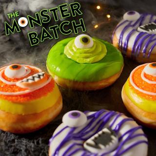 3 Brand New FlavorsKrispy Kreme Halloween Limited Edition Doughnuts