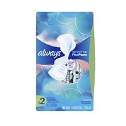 第2件半价+买2立减$3Always 多款液体卫生巾促销 多种尺寸可选