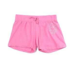 女害 (7-16) 粉色平角裤