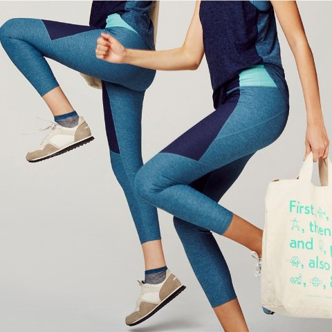 低至5折+额外7折独家:Outdoor Voices官网 女生必入Legging、运动裙折上折