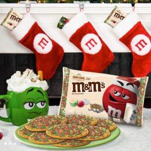 全场8折 多种口味可选M&M'S官网 经典款巧克力豆节日促销
