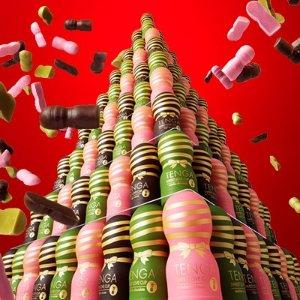 让你专门送单身的广大男性好朋友情人节又要来啦!超贴心的TENGA 推出「杯杯巧克力」