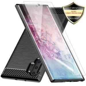 Samsung Galaxy Note 10 Plus 保护壳 + 膜套装