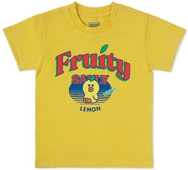 莎莉鸡 水果主题 儿童T恤