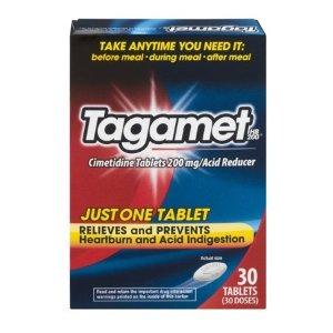 Tagamet HB200 抗酸药片,西咪替丁200mg, 30ct