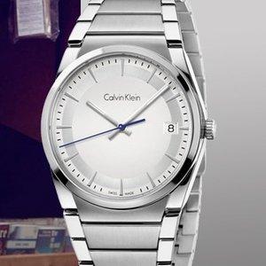 $48 (原价$279)白菜价:Calvin Klein Step 系列时装男表