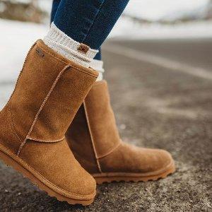 低至5折Bearpaw 雪地靴热卖 经典款$49,毛毛拖$39