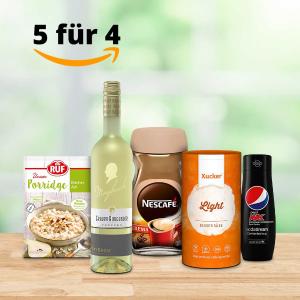 变相8折 寿司紫菜仅€1.16Amazon 食品酒饮 买5付4 收零食、亚洲调味料、各种风味面食