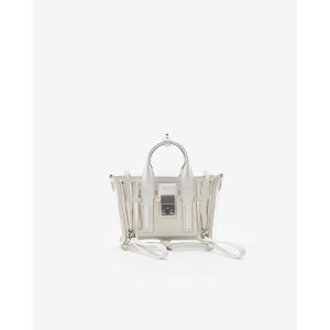 3.1 Phillip LimTransparent Pashli Mini Satchel