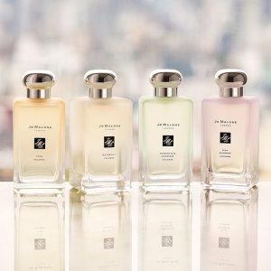 满$175送3件套Jo Malone 仙气高级香 收限量柚子香、婚纱蕾丝款香水