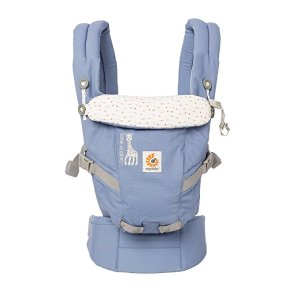 5017f5fdb14 Ergobaby3 Position Adapt Baby Carrier Sophie La Girafe Festival  Collaboration Insert Less Newborn Ready - Blue.  87.95. Ergobaby ...