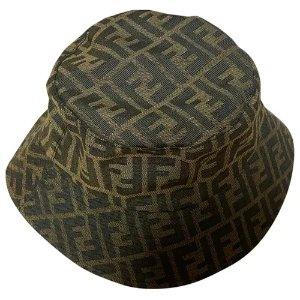 Fendi老花帽