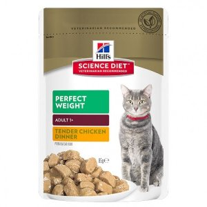 Science Diet  Adult Cat Wet Pouch 85g x12