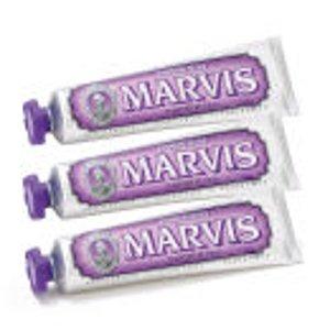 变相6.3折!多味道$3.5起Marvis 牙膏中的爱马仕 套装参加!速速囤货!