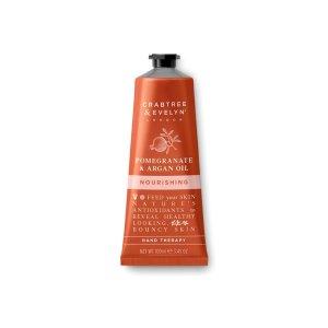 Pomegranate & Argan Oil Nourishing Hand Cream Therapy - 100ml | Crabtree & Evelyn