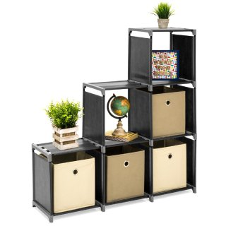 Best Choice Products 6-Drawer Multi-Purpose Cubby Storage Cabinet