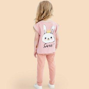 低至8折 $11.9收儿童纯棉T恤