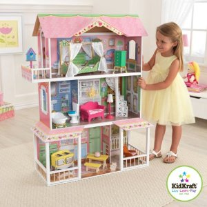 $59.99 起KidKraft 多款大型娃娃屋、过家家玩具促销