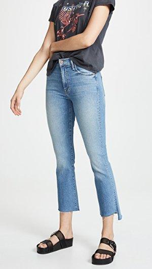 MOTHER Insider Crop Step Fray Jeans | SHOPBOP