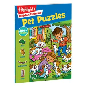 HighlightsHidden Pictures Stickers: Pet Puzzles | Highlights for Children