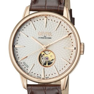 Extra $400 offGEVRIL Mulberry Open Heart Automatic Men's Watches 4 styles @ JomaShop.com