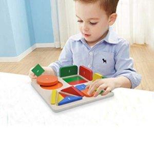 低至$7.99GYBBER&MUMU 儿童益智拼图玩具,收字母、数学拼图