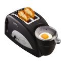 $77(原价$129.5)早餐神器!Tefal 全自动煎蛋、烤吐司一体机(黑色)