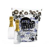 M&M's 个性化巧克力香槟瓶
