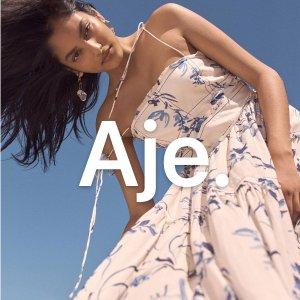 5折起+叠8折 海量好价单品上新今天截止:Aje 美衣闪促 澳洲清新设计 最高立减$450