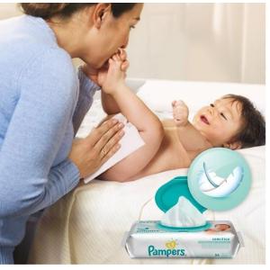 销量冠军$18.5(原价$26.97)Pampers Baby天然清洁皮肤型婴儿湿巾 1154张