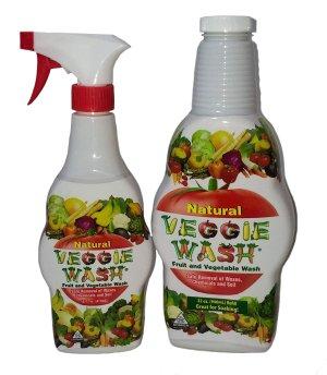 全天然水果和蔬菜洗涤液