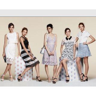 低至5折 + 额外7.5折AQUA 夏季美衣折上折热卖 美腻连衣裙